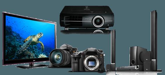 reparación airis televisores cámaras proyectores sonido